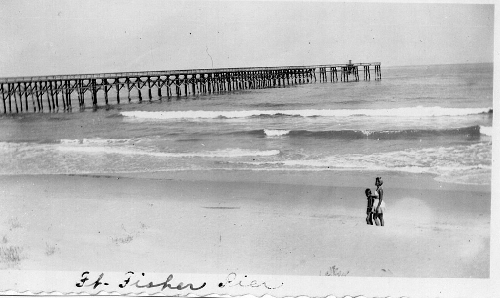 Oral history earl page part 6 fort fisher pier for Kure beach fishing report