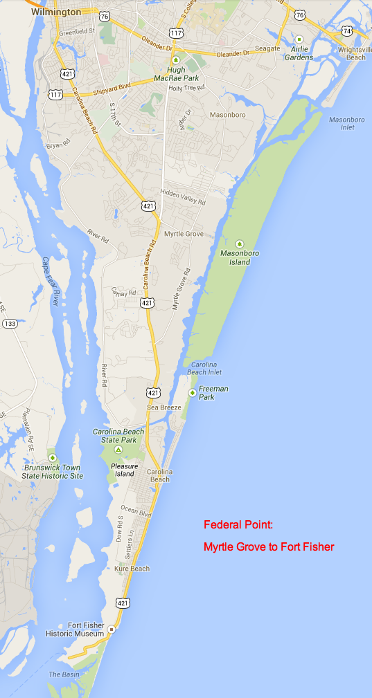 Pleasure Island Nc Map Where is Federal Point? | Federal Point Historic Preservation Society