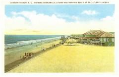 533 Postcard - Ocean Boardwalk