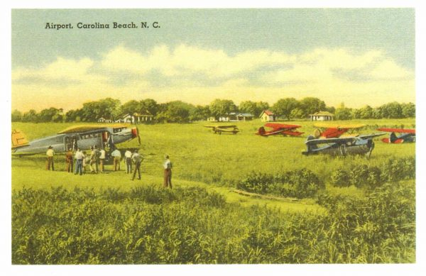 535 Postcard - Airport