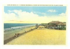599 Notecard Ocean - Boardwalk