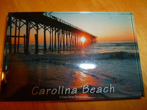 Magnet - Carolina Beach Pier.