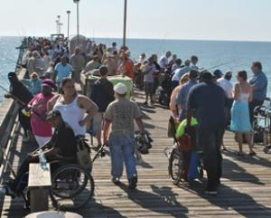 kure beach fishing pier federal point historic