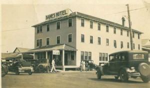 Bames Hotel - Opened June 1930
