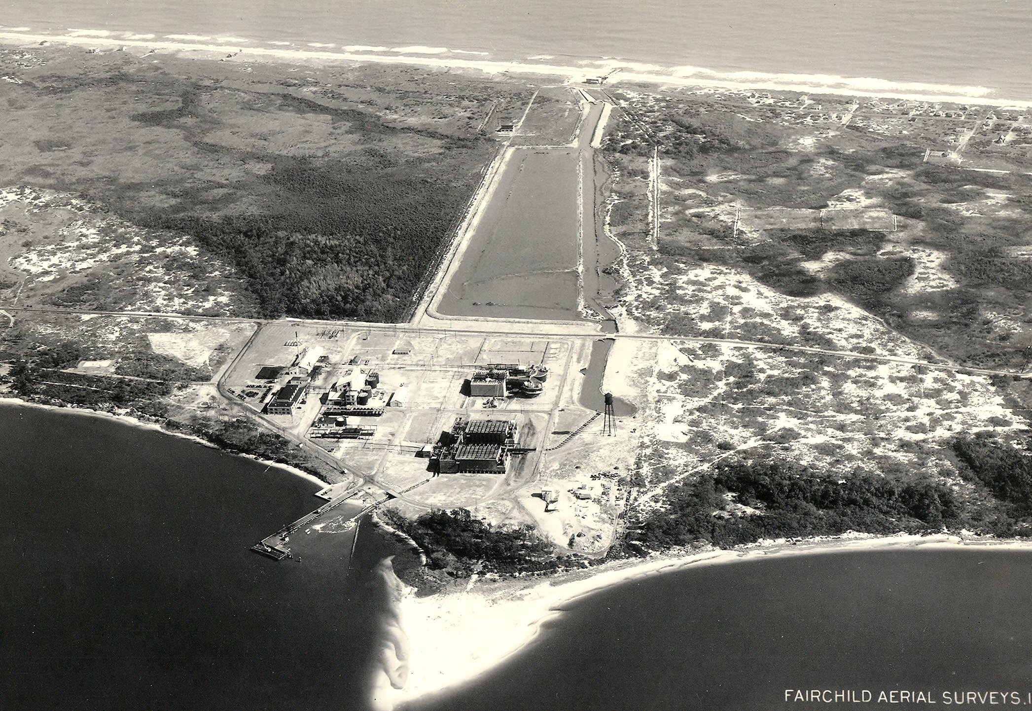 Oral history monroe shigley plant manager at ethyl dow for Kure beach fishing report