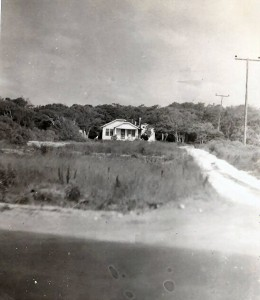 Grandmother and Albert Walker Hewett Home - directly across 421- outside Fort Fisher ,NC