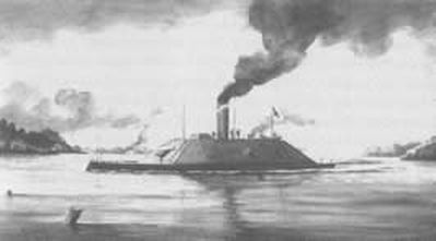 Ironclad CSS Raleigh - Courtesy of Cape Fear Historical Institute