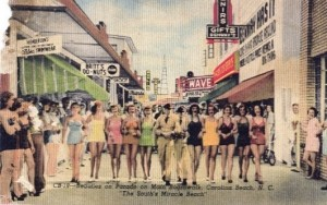 Postcard from 1940s